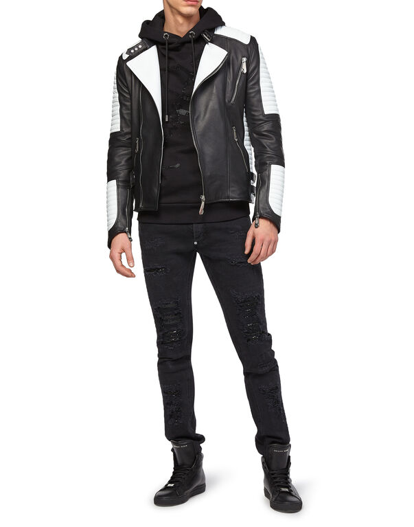 "Leather Biker ""Nothing"""