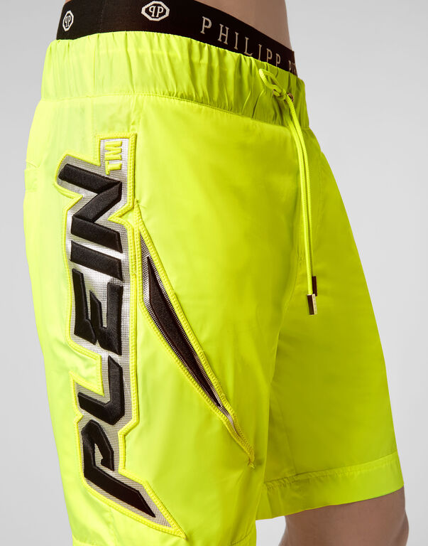 Jogging Shorts Space Plein