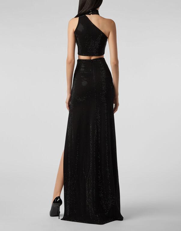 Long Skirt Crystal