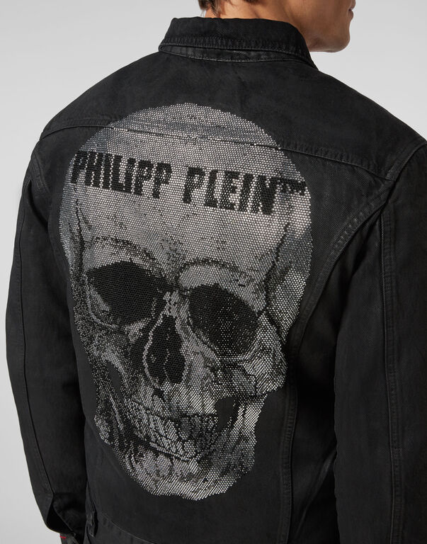 Denim Jacket  Skull