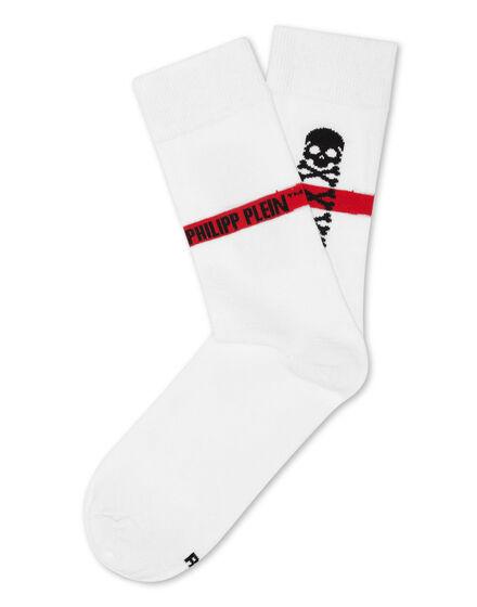 Socks Skull and Plein