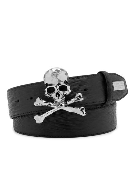 Leather Belt Skull