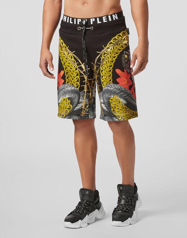 Jogging Shorts Foulard texture