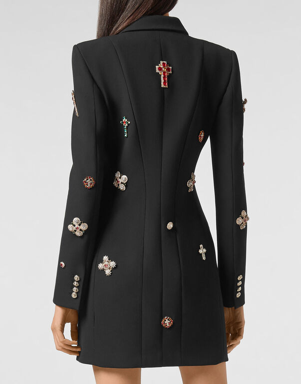 Short Dress Baroque cross