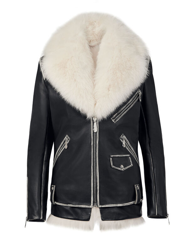 Leather Jacket Skull