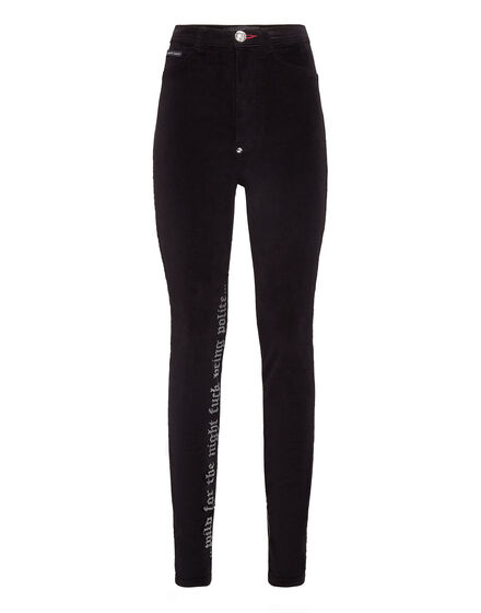 Super High Waist Jegging Gothic Plein