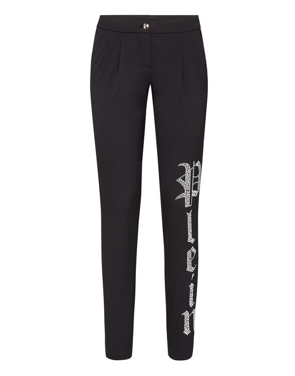 Long Trousers Crystal Plein
