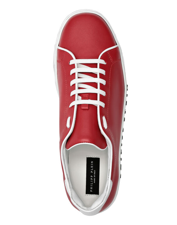 Leather Lo-Top Sneakers Istitutional