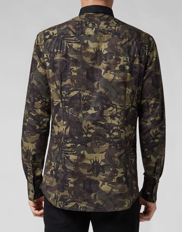 Shirt Platinum Cut LS Jungle