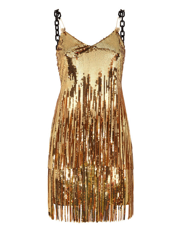 Short Dress Gold