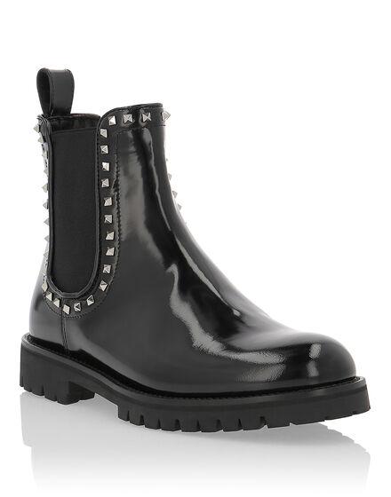 Boots Mid Flat Luxury