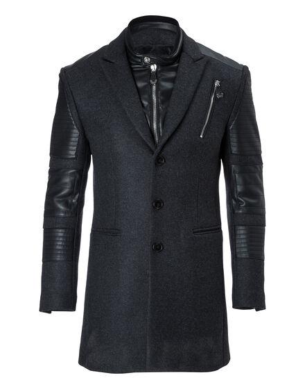 Coat Long Greene