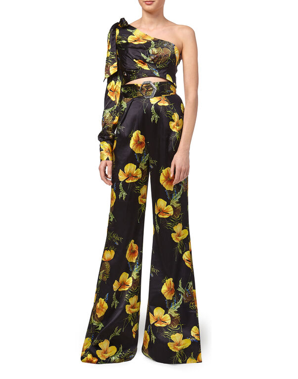 "Top/Trousers ""In Flowers"""