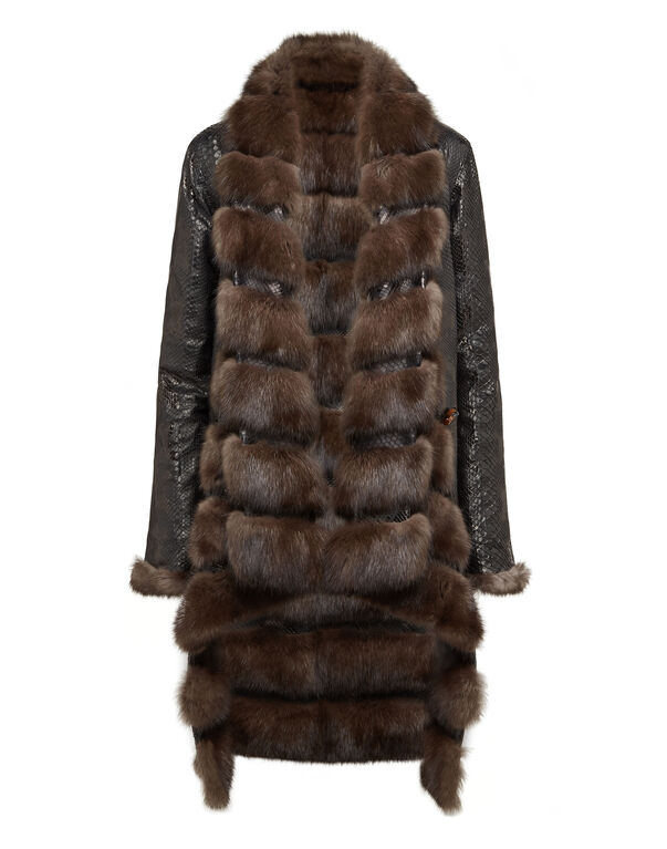 Fur Vest Long Luxury