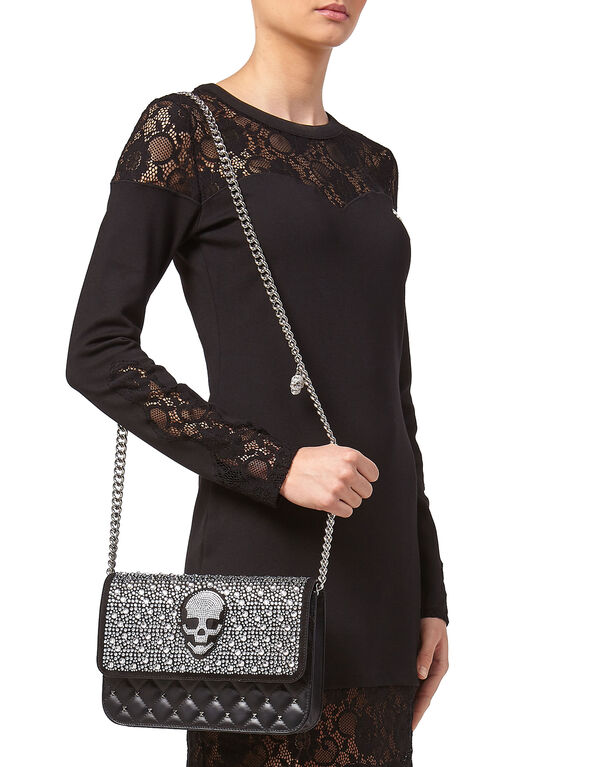 "Shoulder Bag ""Rich Skull"""