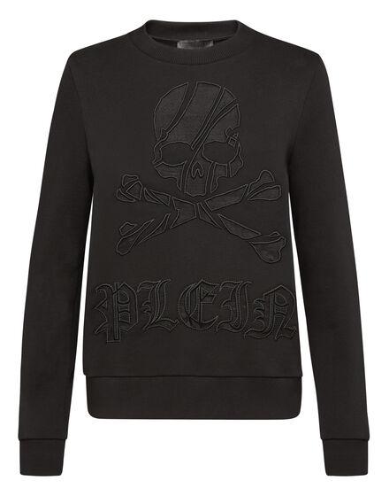 Sweatshirt LS Skull