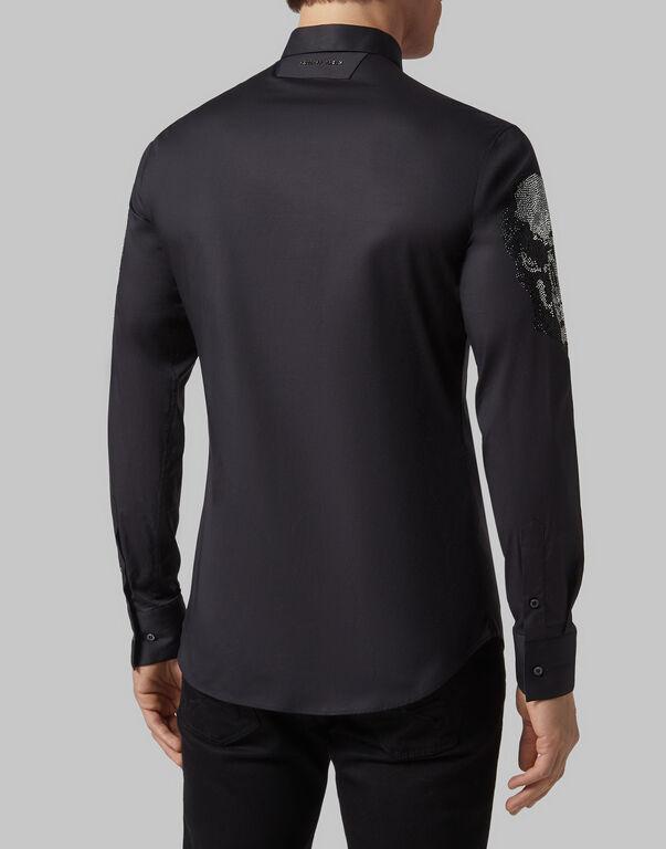 Shirt Platinum Cut SS Skull