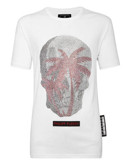 ... T-shirt Platinum Cut Round Neck Aloha Plein 6686fc6029