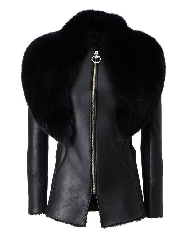 """Fur Jacket """"Times Sqaure"""""""