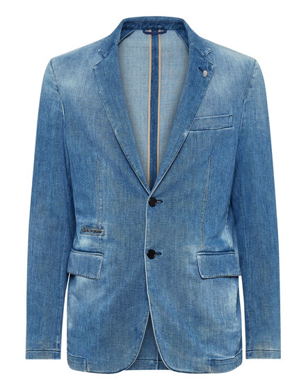 Denim Blazer Iconic Plein