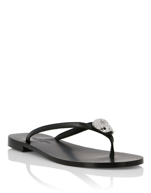 Sandals Flat Statement