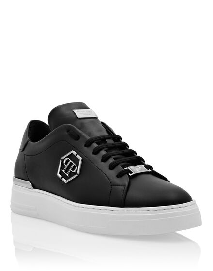 Leather Lo-Top Sneaker The Plein Original TM