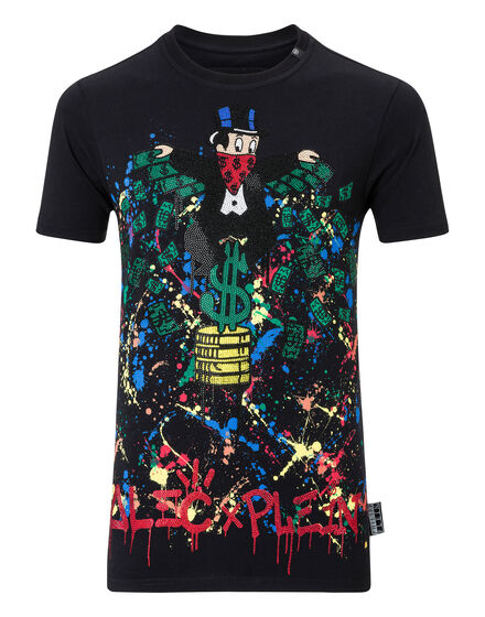 T-shirt Round Neck SS Monopoli Al
