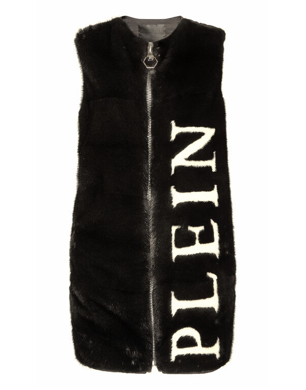 "Fur Vest Long ""Signature"""