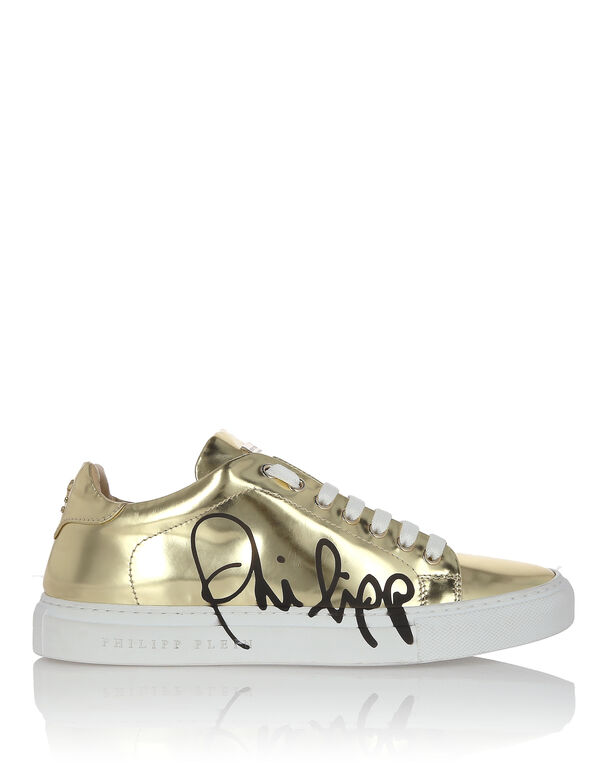 """Lo-Top Sneakers """"Signature mirror"""""""