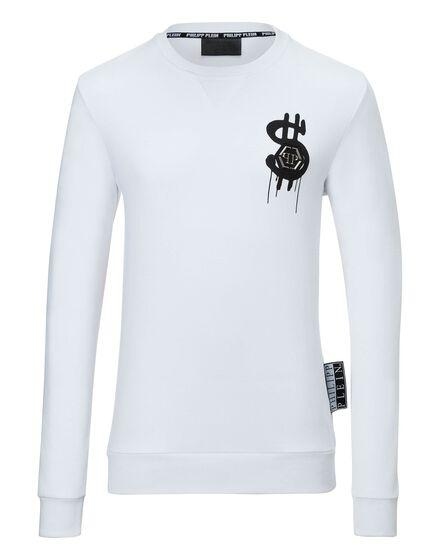 Sweatshirt round neck LS Dollar fly