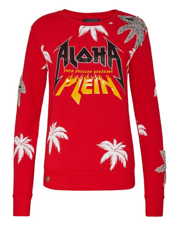 Sweatshirt LS Aloha Plein
