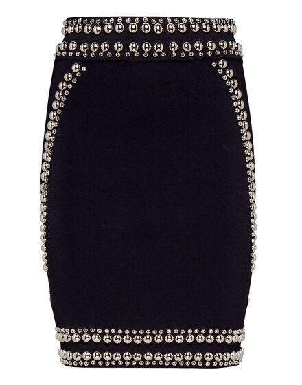 Short Skirt Studs Silver