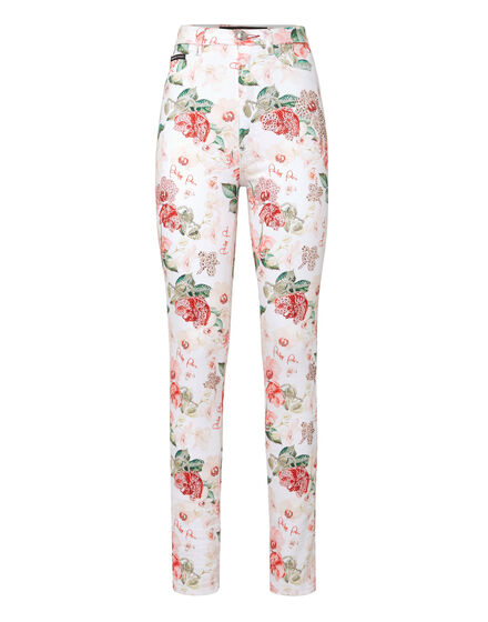 Super High Waist Jegging Pink Paradise