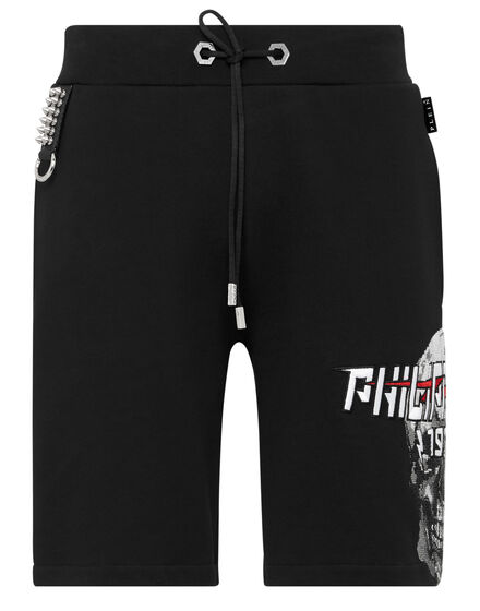 Jogging Shorts Skull crystal