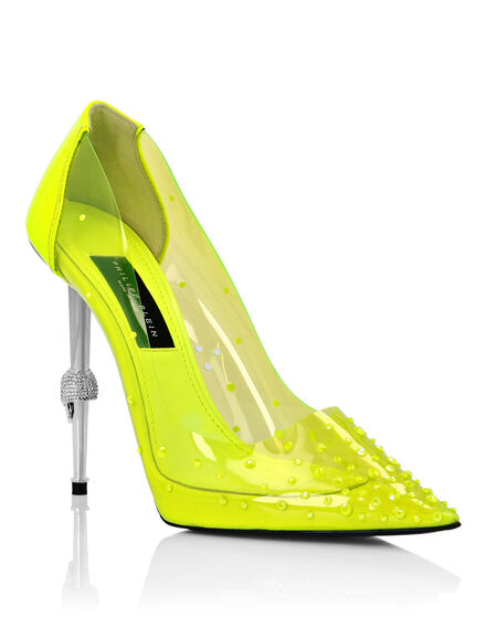 Decollete Hi-Heels in pvc Crystal
