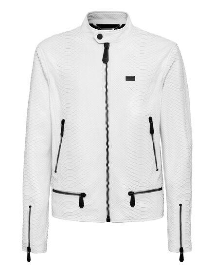 Leather Python Jacket Luxury