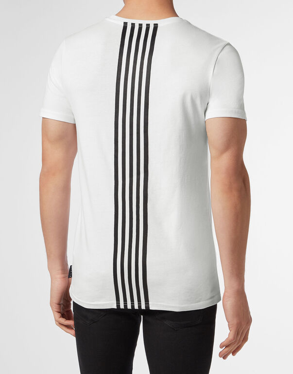 T-shirt Round Neck SS Stripes