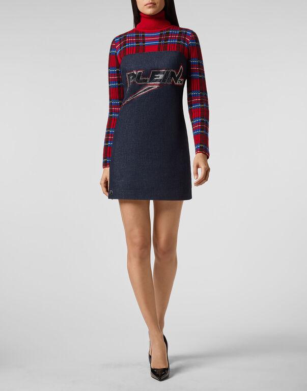 Short Dress Tartan