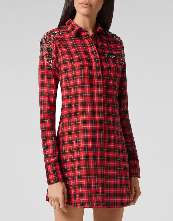 Shirt Dress Tartan