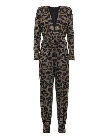 Jumpsuit Full of stones Leopard