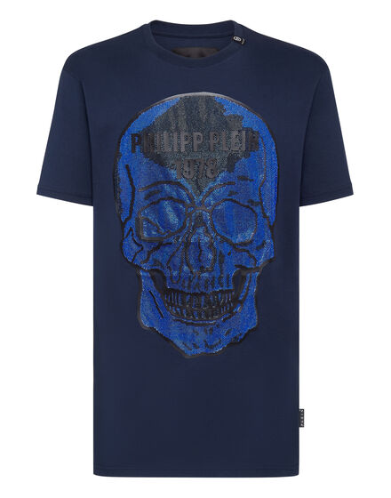 T-shirt Round Neck SS Crystal Skull