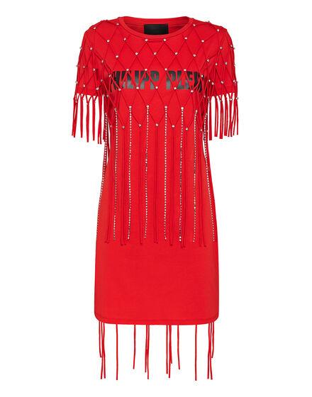 Short Dresses Moana Fringe