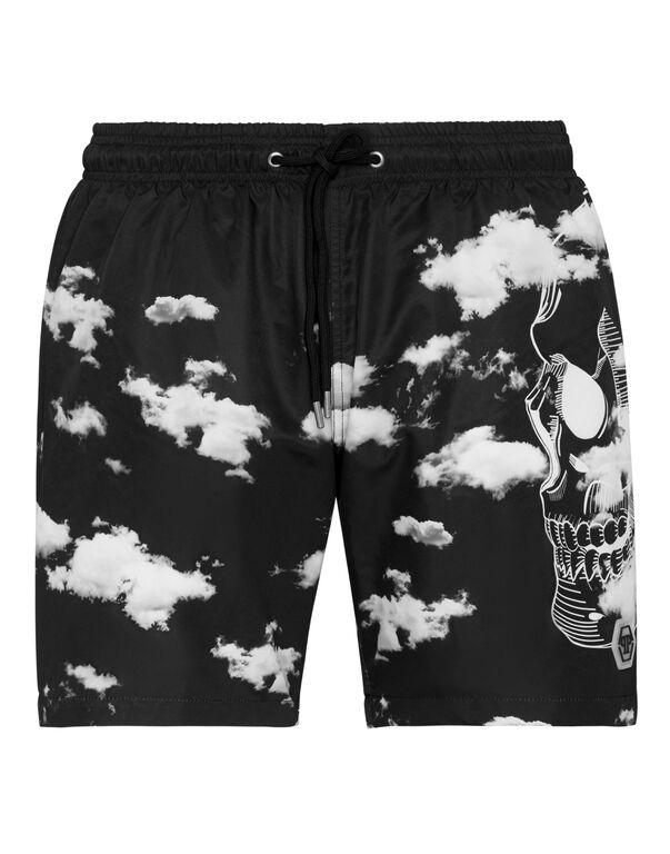 Beachwear Short Trousers Clouds