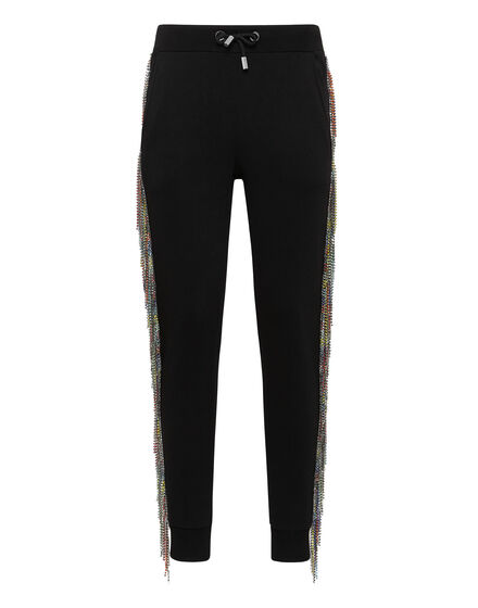 Jogging Trousers Rainbow Fringe