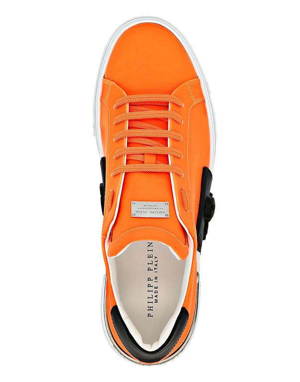 PHANTOM KICK$ Lo-Top Rubberized Leather