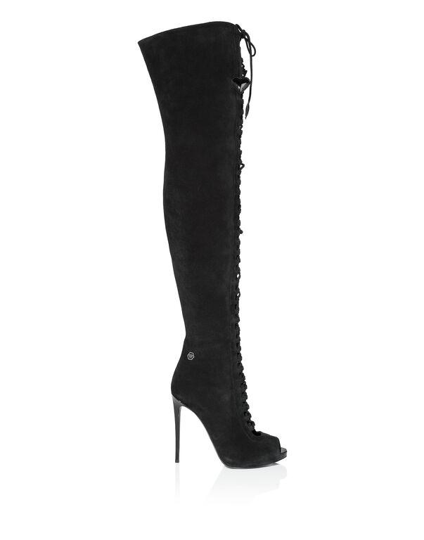 "Boots Hi-Heels Overknees ""Estia basic"""