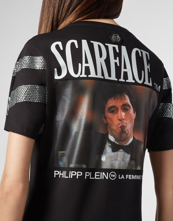 T-shirt Dress Round Neck SS Scarface