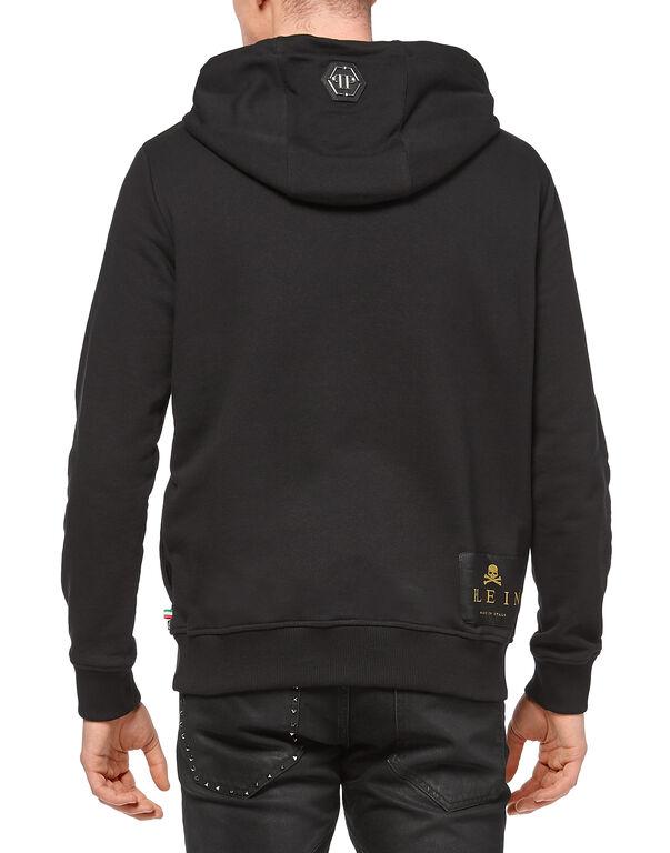 "Hoodie sweatshirt ""Python Skull"""