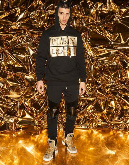 Hoodie sweatshirt Gold