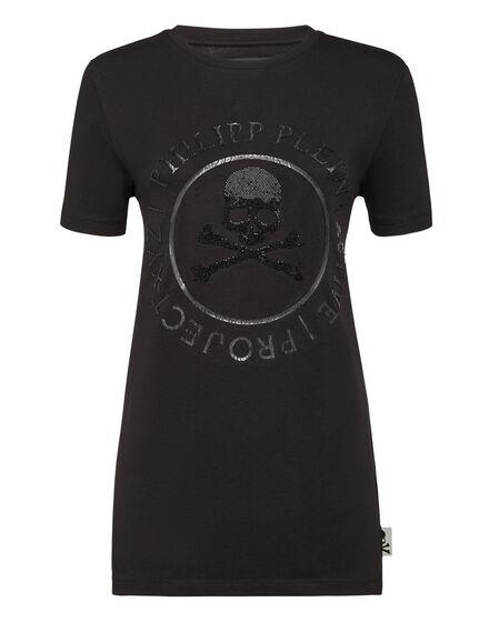 T-shirt Round Neck SS XYZ Crystal
